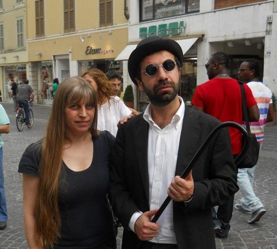 Rosa Contino con Lo Jettatore...