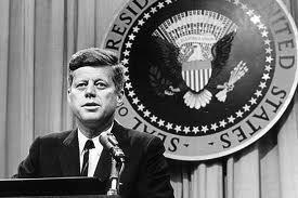 Un'immagine del Presidente Kennedy