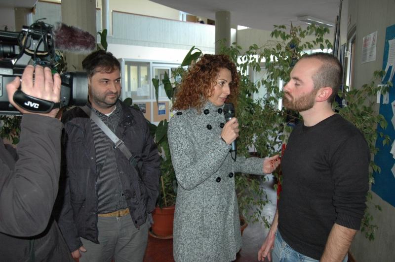 Luca Menichelli e Vittorio De Iuliis intervistati al convegno di Vannoni
