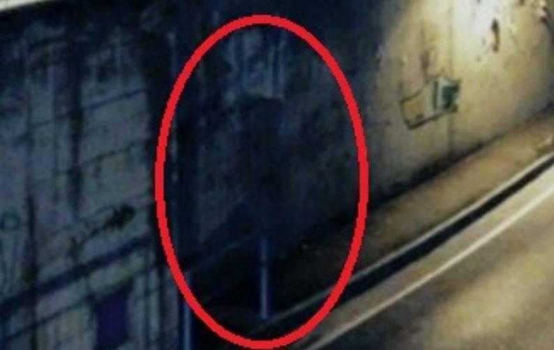 Un dettaglio del presunto fantasma che confermerebbe un caso di pareidolia, in attesa di ulteriori dettagli da parte dell'indagine di Hesperya