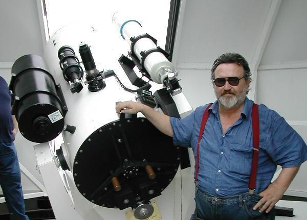Bruno Moretti Turri - direttore del SETI ITALIA