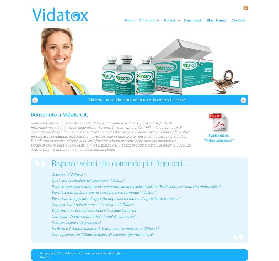 Sito ufficiale Vidatox