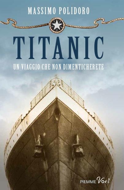 Copertina del libro TITANIC di Massimo Polidoro
