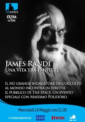 James Randi in Italia