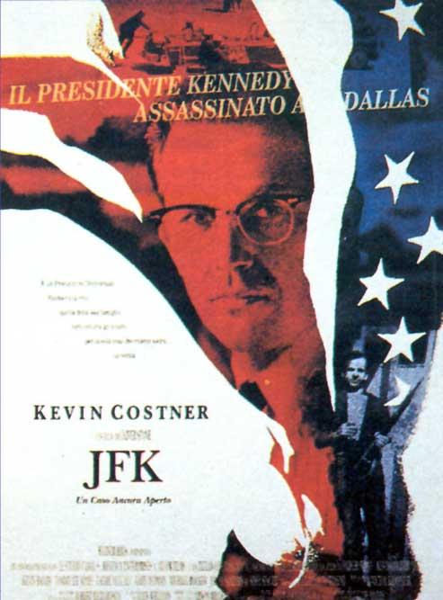 JFK un caso ancora aperto - Locandina Film