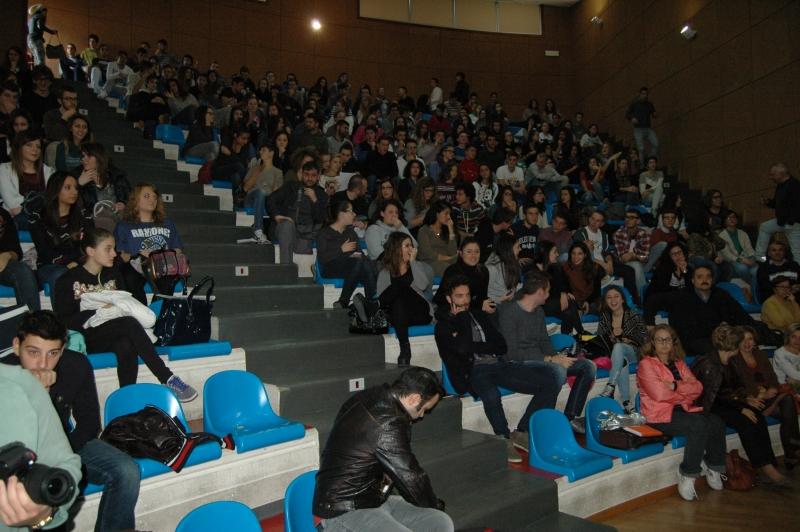 Parte del pubblico al convegno di Vannoni a Vasto