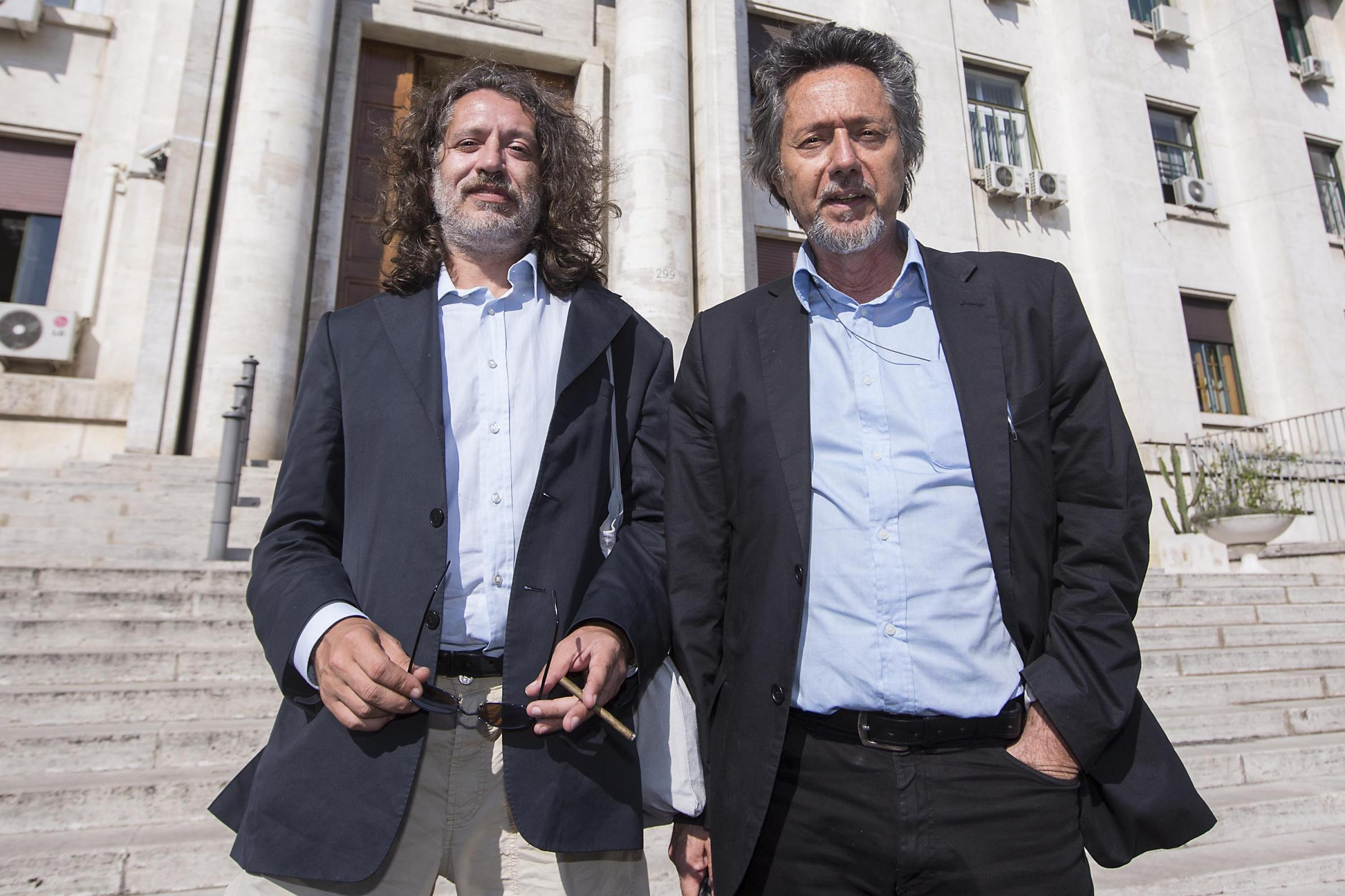 Davide Vannoni e Mariano Andolina